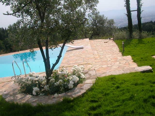 Giardini residenziali vivai piante menotti melani - Giardini con piscina ...